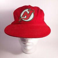 NHL New Jersey Devils Retro Snapback Hat 90s Holiday Edition Xmas OSFA NWOT