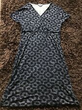 East Size 18 Navy Casual Jersey Dress