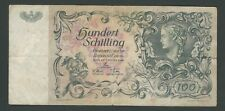 AUSTRIA 100 SCHILLING  1949  CIRCULATED