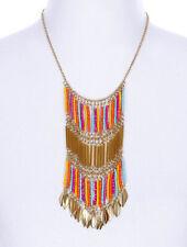Beaded Fringe Necklace