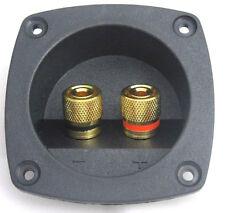Lautsprecherterminal vergoldete Schraubklemmen bis 16 mm² Anschlussterminal