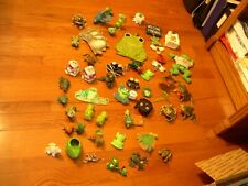Frogs, Frogs, Frogs!- 50+ Various Frog Figurines & Other Items-Glass, Metal,etc