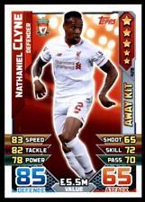 Match Attax 2015-2016 Nathaniel Clyne Liverpool Away Kit No. 428