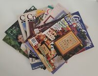 Counted Cross Stitch Patterns Magazines & Leaflets Various Brands Vtg You Choose
