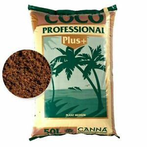 CANNA Coco Professional Plus 50L x 2 Bags Growing Media Plants Fast Discreet