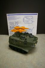 VINTAGE 1988 GI JOE HASBRO WARTHOG VEHICLE WITH INSTRUCTIONS BLUEPRINTS
