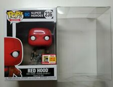 FUNKO DC SUPER HEROES RED HOOD OFFICIAL SDCC 2018 LIMITED EDITION POP PROTECTOR