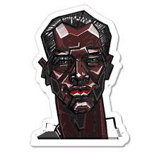 "Man With green Eyes car bumper sticker decal 5"" x 3"""