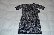 Authentic Juicy Couture Womens Anchor Away Dress Navy White Size M