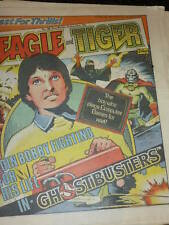 EAGLE & TIGER Comic - No 190 - Date 09/11/1985 - UK Comic