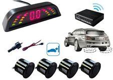 4 sensori parcheggio wireless centrallina display lcd kit retromarcia auto