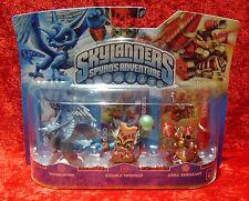 Whirlwind Double Trouble Drill Sergeant Skylanders, 3 Skylander Figuren, OVP-Neu