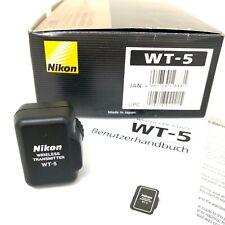 Nikon WT-5 WiFi WLAN Wireless Transmitter für Nikon D4 D4S - NEUWERTIG in OVP