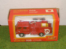 TOMICA DANDY DIE-CAST 1/58th SCALE MODEL 005 RED FIRE ENGINE