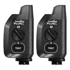 Pocket Wizard PlusX 2 Pack 2+ transceivers PocketWizard Compatible Remote Flash