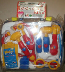 Polyfect Toys Doctor Set in Plastic Case NEW IN BOX!!