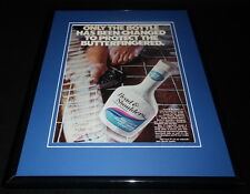 1969 Head & Shoulders Shampoo Framed 11x14 ORIGINAL Vintage Advertisement