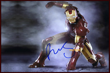 4x6 SIGNED AUTOGRAPH PHOTO REPRINT Robert Downey Jr. Iron Man
