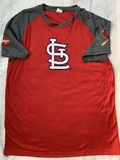 St. Louis Cardinals Red/Gray T-Shirt Youth XL Promotional Authentic NEW