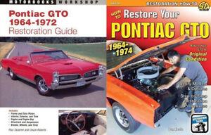 Pontiac GTO 1964-1972 How To Restore TWO BOOK SET