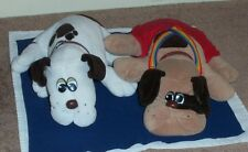 Two Vintage Pound Puppies