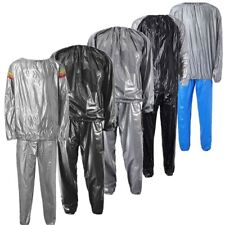 Heavy Duty Sweat Suit Sauna Suit Exercise Gym Suit Fitness Weight Loss Anti-Rips