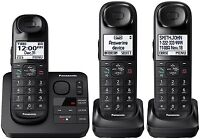 Panasonic KX-TGL433B DECT 6.0 Digital Cordless Phone System w/ Answering Machine