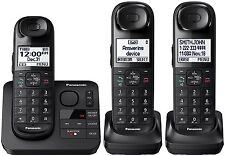 Panasonic KX-TG3683B DECT 6.0 Digital Cordless Phone System w/ Answering Machine