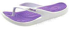 Ladies Eva Toe Post Flip Flop Womens Pool Beach SLIPPER Water Proof Shoes White UK Size 8