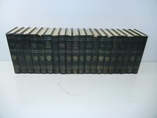THE HARVARD CLASSICS REGISTERED DELUXE EDITION 1969 -20 Volumes -VERY GOOD