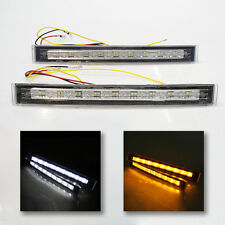 Led Drl Indicator Fog Lights 8.5'' For Hyundai Accent Coupe Genesis i30 Lantra