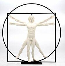 Vitruvian Man by DaVinci - White