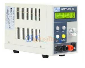 1PC DC regulated adjustable Power Supply HSPY-120-03 120V 3A 360W NEW