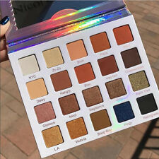 20 colors Shimmer Eyeshadow Palette Makeup Powder Lasting Metallic