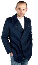 New listing Vtg Atomic Mod 1960's Burton Navy Blue Blazer Peacoat Jacket Mens Coat sz Small