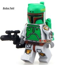 Boba Fett Green (Style 2) Mini Figure NEW UK Seller Fits Lego Starwars Star Wars