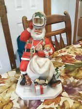 Norman Rockwell Space Age Santa Figure 1984