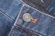 "Hiltl ""Seth"" NWT Current Cotton/Cashmere Five-Pocket Jeans Size 40 X 32 in Blue"