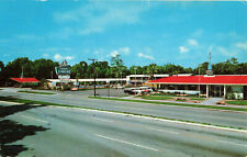 Postcard Howard Johnson's Landmark For Hungry Americans