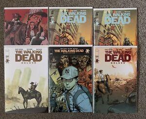The Walking Dead Deluxe Comics Job Lot