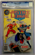 Justice League 3 Superman Logo Variant 1987 CGC Graded