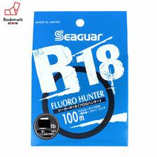 NEW Seaguar R18 Fluoro Hunter 100m 10lb #2.5 Clear 0.260mm Fluorocarbon Line JPN