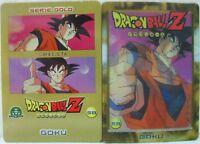 """Dragon Ball Z  """"Goku"""" Giochi Preziosi serie GOLD n° 58 lenticolare"""