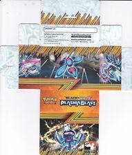 POKEMON DECK BOX (1)(BLACK & WHITE SETS)(PLASMA BLAST SET)