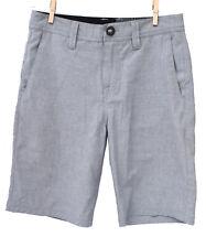 VOLCOLM Chino Youth/Boys Shorts Grey/ PolkaDot  Size 26/ US12