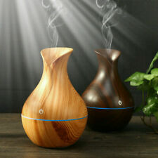 Electric Essential Oil Diffuser Humidifier Aroma Aromatherapy LED Ultrasonic A