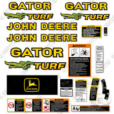 John Deere Gator Turf Decal Kit Utility Vehicle 1999 3m Vinyl