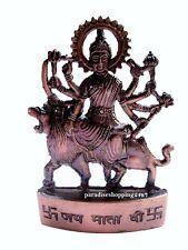 Durga Vaishno Mata Kali Maa Metal Plated Statue Hindu Goddess Handmade Statue