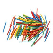 100pcs Colorful Bamboo Counting Sticks Kids Children Preschool Math Learning Toy
