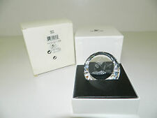 "Swarovski Crystal Scs ""2001 Harlequin Paperweight"" 278714 New In Box"
